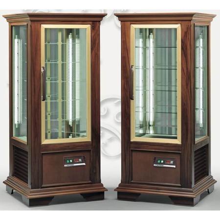 Vetrina frigo espositiva legno positiva 5 ripiani 570x520