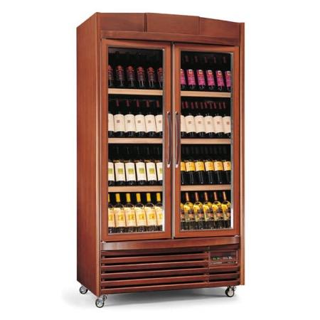 Vetrina frigo vino 680L 4 temperature