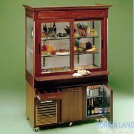 Mobile refrigerato 4 GN 1/1