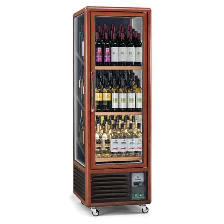 Vetrina frigo vino 340L 3 lati 3 temperature