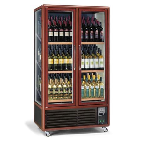 Vetrina frigo vino 680L 3 lati 3 temperature