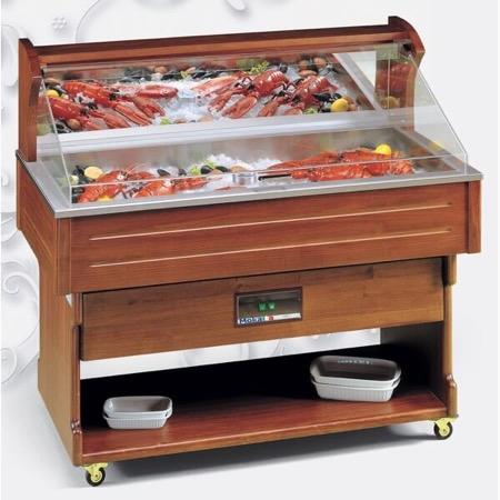 Mobile refrigerato presentazione pesce