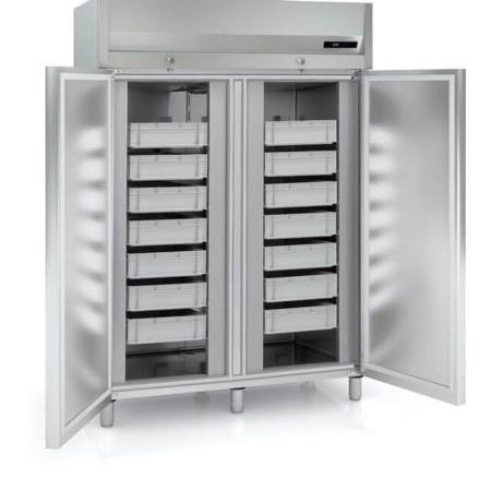 armadi refrigerati per pescherie e da ristoranti