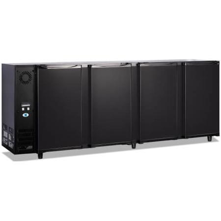 Bancone refrigerato per bibite 4 porte 610L