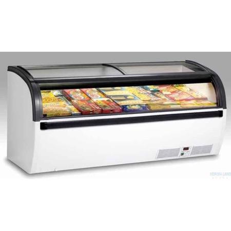 Bancone frigo per surgelati 2 mt