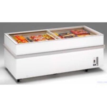 Banco frigo per surgelati 1 cestello 2 griglie