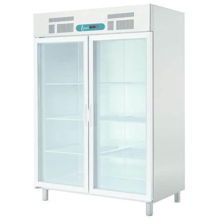 Armadio frigo porta vetro 1 o 2 ante Banchi frigo murali ...